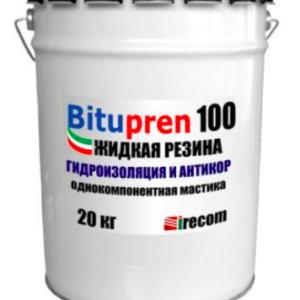 Bitupren 100 – Hüdrokorrosioonikaitsega ühekomponendiline mastiks 20kg