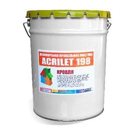 Acrilet 198 – Värviline katuse kummimastik 25kg